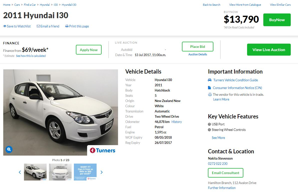 Used Cars For Sale A Better Way To Buy And Sell Turners >> Buynow Cars Turners